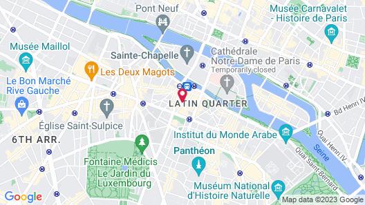 Hôtel du Levant Map