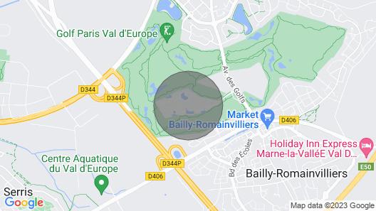Marriott Village D'ile-de-france Map