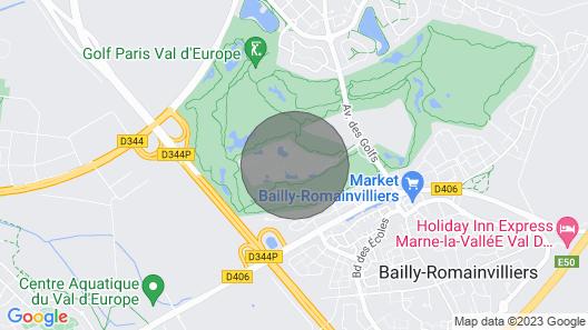 Beautiful Sunset Paris Retreat - Marriott's Village D'ile-de-france Map