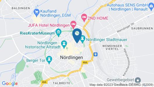 Ferienwohnung Baierl Map