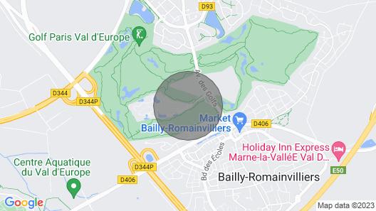 Villa in mariott Village, ile de France, 5min from Disney Land Paris Map