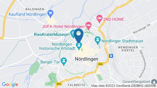NH Klösterle Nördlingen Map