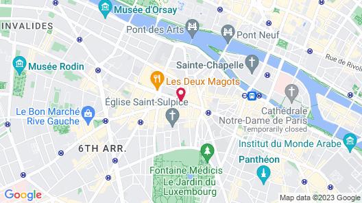 La Maison Saint-Germain Map
