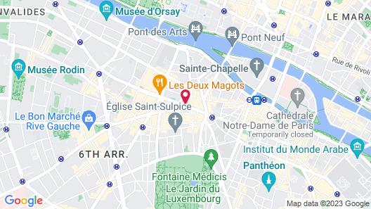 La Maison Saint Germain Map