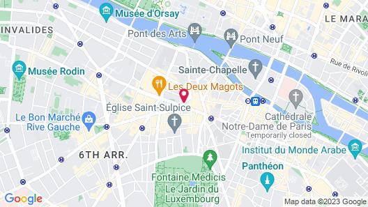 Hôtel Artus Map