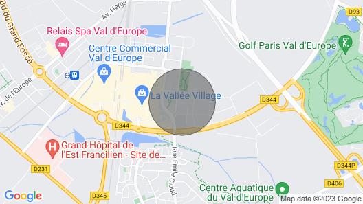 ★ Kodikas Huoneisto Lähellä Disneyland Paris ★ Map