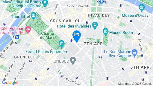 Hôtel La Comtesse Map