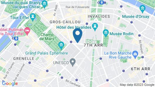 Hotel Eiffel Turenne Map