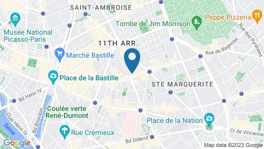 BLC Design Hotel Map