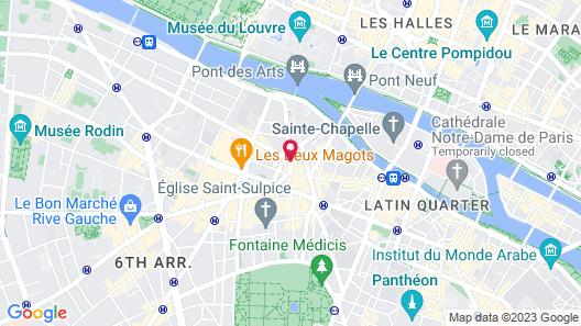 Hotel de Seine Map