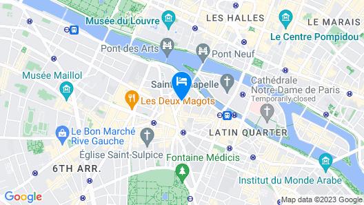 Hotel d'Aubusson Map