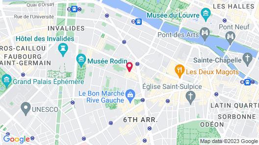 Hotel Saint Germain Map