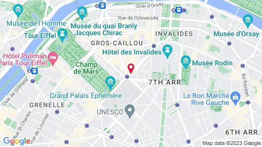 Hotel le Walt Map
