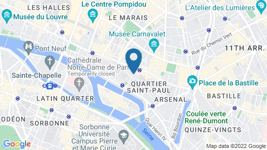 MIJE Marais Map