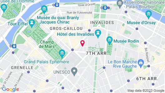 Le Cinq Codet Map