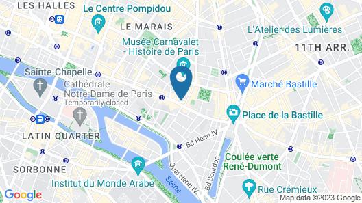 Hotel Caron Map