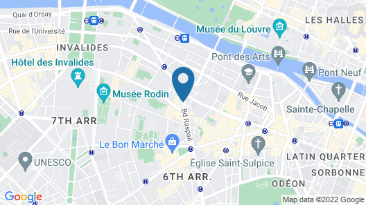 K+K Hotel Cayre Paris Map
