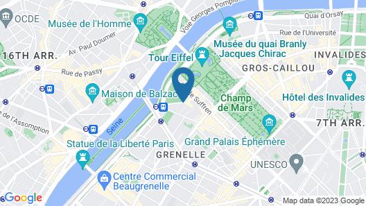 Mercure Paris Centre Tour Eiffel Map