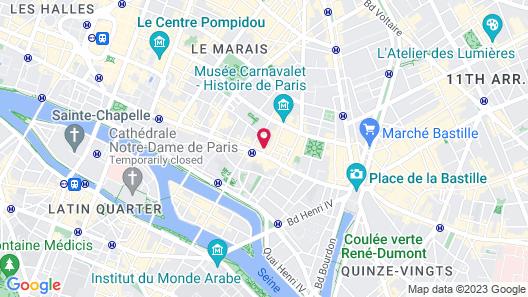 Grand Hotel Malher Map