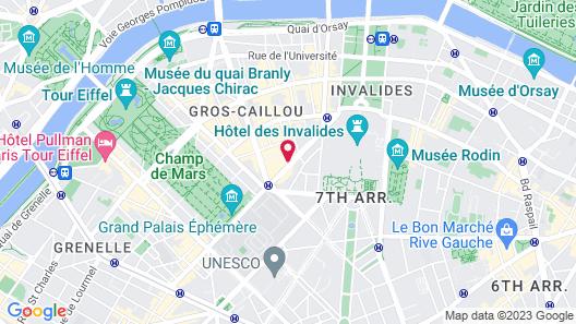 Hotel de La Motte Picquet Map