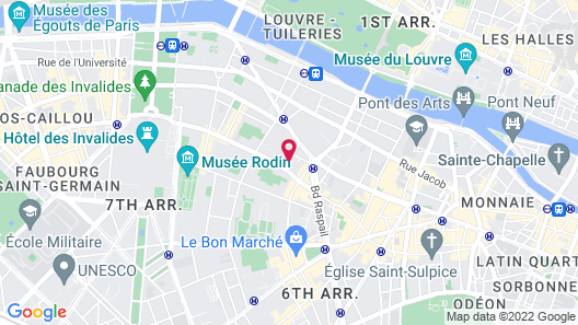 Duc de Saint-Simon Map