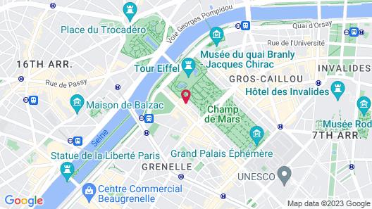 Résidence Charles Floquet Map