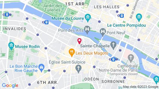 L'Hotel Map