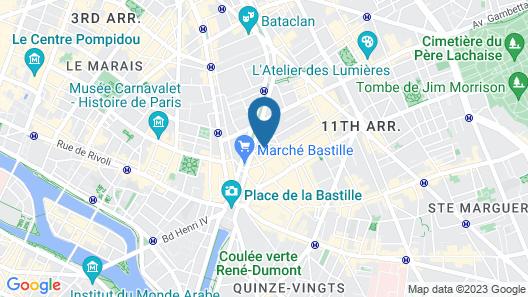 Maison Breguet Map