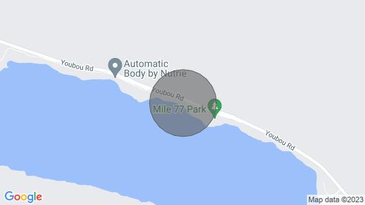 Resting Canoe Lakehouse Map