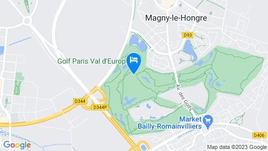 Radisson Blu Hotel Paris, Marne-la-Vallée Map