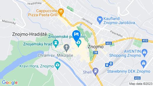 Hotel Morava Map