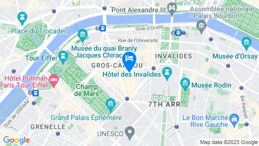 Grand Hotel Leveque Map