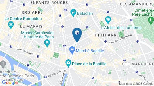 Hotel La Finca Map