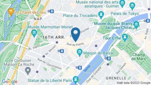 Best Western Premier Trocadero La Tour Map
