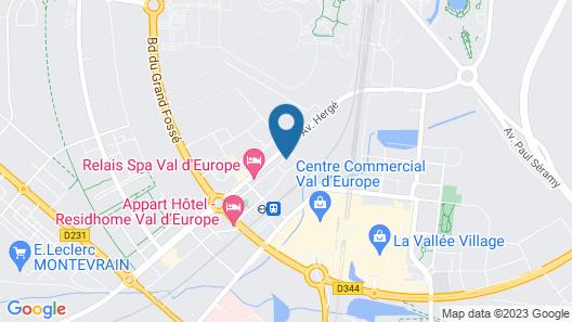 Les Prés Carrés Map