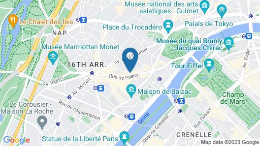 Hôtel Villa Nicolo Map
