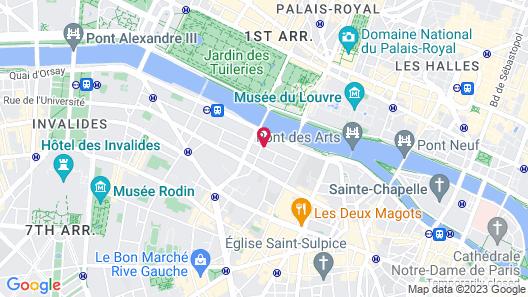 Hotel de Lille Map