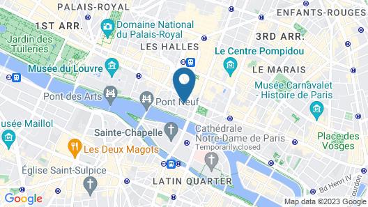 Hôtel Elixir Map