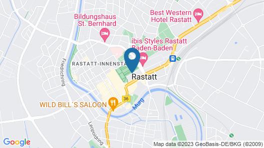 ibis Styles Rastatt Baden Baden Map