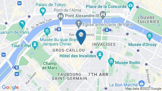 Les Jardins d'Eiffel Map