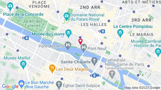Relais Du Louvre Map