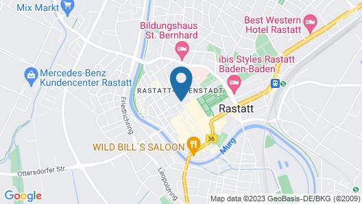 Hotel Schwert Map