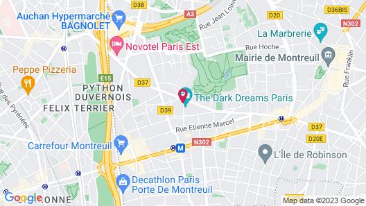 Loft Fraternité Map