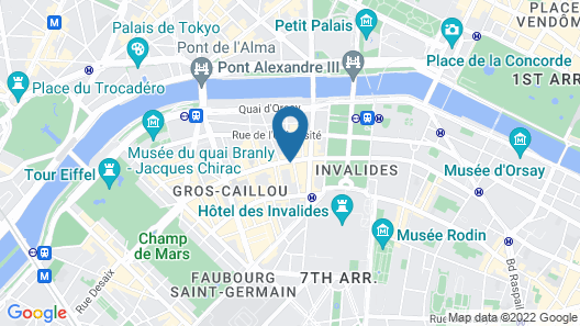 Hotel Thoumieux Map