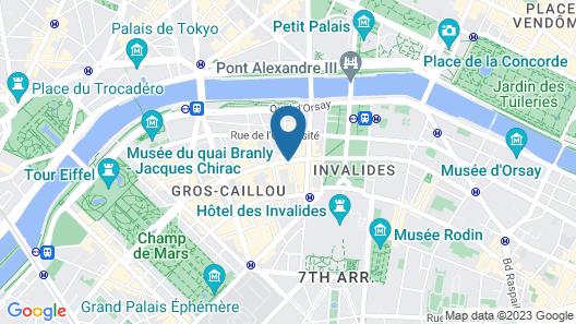 Hotel Saint Dominique Map