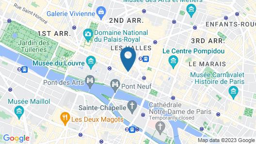 Hotel Ducs de Bourgogne Map