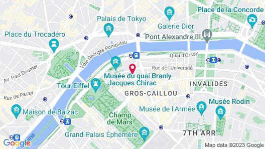 Le Derby Alma Map