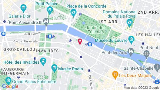 Hôtel d'Orsay Map