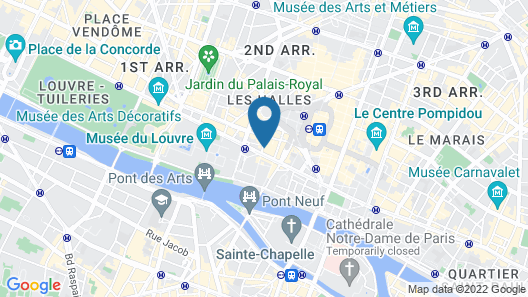 L'Empire Paris Map
