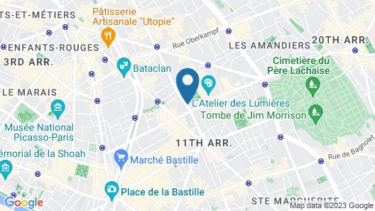 Acacia Hotel Map